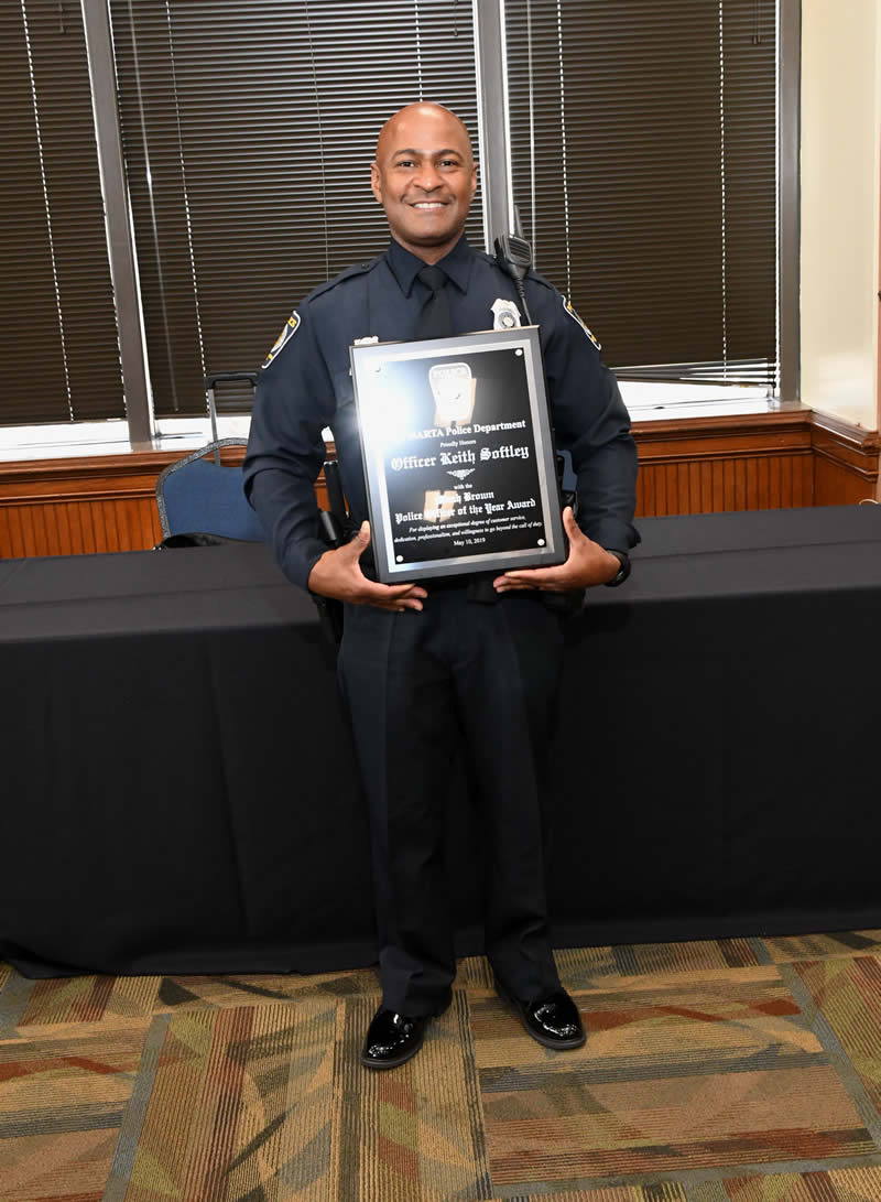 Officer of the Year - Officer Keith Softley